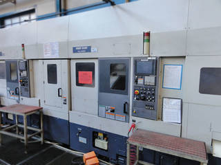 Lathe machine Mori Seiki CL 200 M - LG5 Transferanlage 2 Stk-1