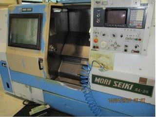 Lathe machine 2 x Mori Seiki SL 25 A / 500-0