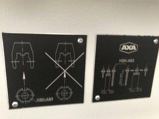 Milling machine AXA VSC 3 XTS, Y.  2007-10