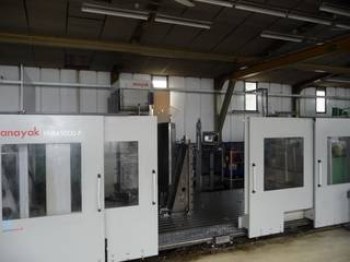 Anayak HVM 5000 P Bed milling machine-0