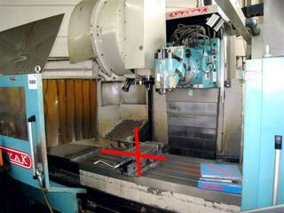 Anayak VH 1800 Bed milling machine-1