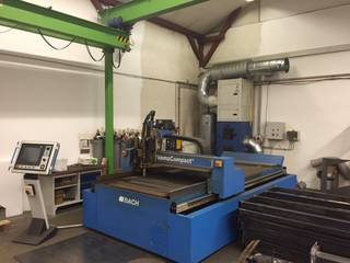Bach PlasmaCompact 1500 x 3000 plasma cutting machines-5