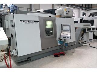 Lathe machine DMG CTX 420 Linear V6-7
