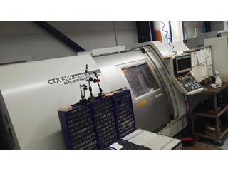 Lathe machine DMG CTX 500 Serie 2-0