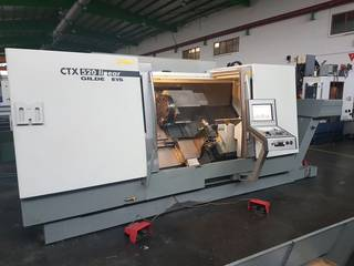 Lathe machine DMG CTX 520 linear x 1300-0
