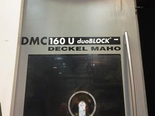 Milling machine DMG DMC 160 U duoBlock H/V -3