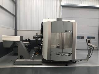 Milling machine DMG DMC 80 FD doublock, Y.  2005-1
