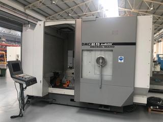 Milling machine DMG DMC 80 FD doublock, Y.  2005-6
