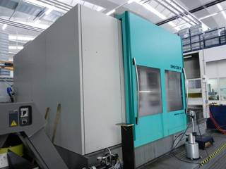 Milling machine DMG DMU 200 P, Y.  1999-4