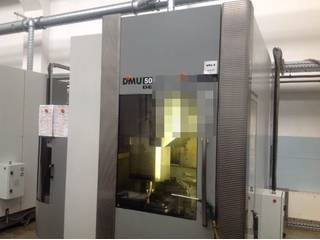 Milling machine DMG DMU 50 Evo linear-0