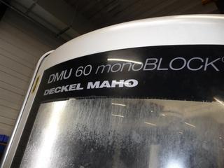 Milling machine DMG DMU 60 monoBLOCK, Y.  2010-1