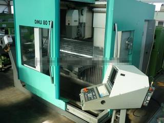 Milling machine DMG DMU 80 T, Y.  1996-0