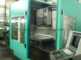 Milling machine DMG DMU 80 T, Y.  1996-1