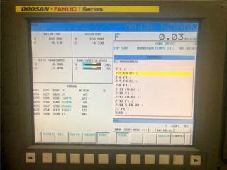 Lathe machine Doosan Daewoo Puma 480 L-2