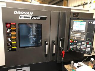 Lathe machine Doosan Puma 2600LY-1