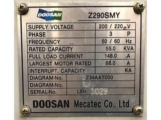 Lathe machine Doosan Z 290 SMY-5