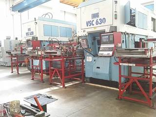 Lathe machine Emag VSC 630 x 2-2