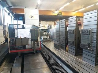 FPT SIRIO M 100 Bed milling machine-1