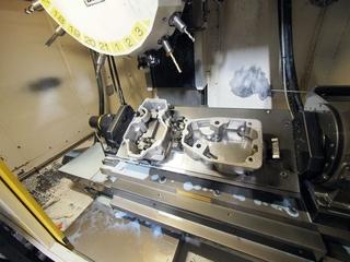 Milling machine Fanuc Robodrill α-T21iFL-7