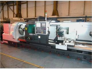 Hwacheon Mega 100 Heavy duty semi CNC lathe x 4000