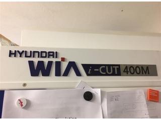 Milling machine Hyundai WIA iCUT 400 M, Y.  2016-4