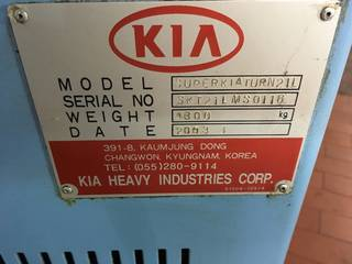 Lathe machine Hyunday KIA Superturn 21 LM-6