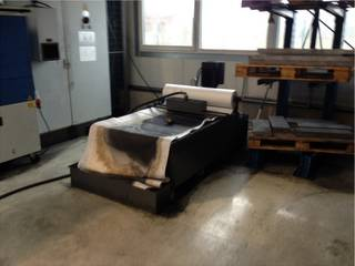 Lagun GTM 3 x 2000 Bed milling machine-7