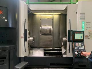 Lathe machine Mazak Integrex e-410 HS multi tasking-1