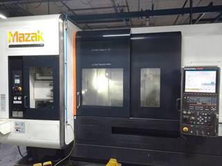 Lathe machine Mazak Integrex i 400 S-0