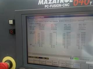 Lathe machine Mazak Multiplex 6200 Y-5