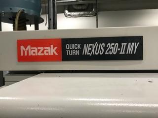 Lathe machine Mazak QT Nexus 250 II MY-2