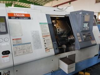 Lathe machine Mazak SQT 200 MSY-1