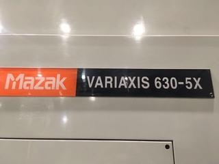 Milling machine Mazak Variaxis 630 5X, Y.  2003-8