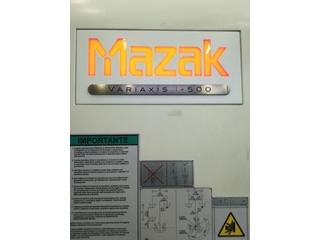 Milling machine Mazak Variaxis i - 500, Y.  2014-1