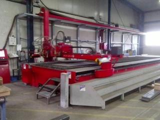 Microstep Europa Typ SLP-PA 15001.35 plasma cutting machines-2