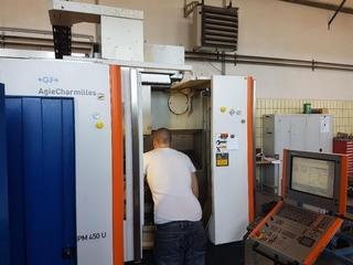 Milling machine Mikron HPM 450 U-5