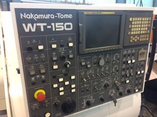 Lathe machine Nakamura Tome WT 150-5