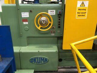 Lathe machine Okuma LH 1250 x 5000-3
