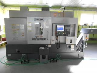 Lathe machine Okuma Multus B 200 WX 750-0
