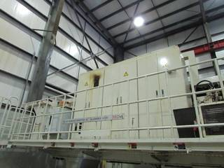 SNK Gantry 3 x head Portal milling machines-3
