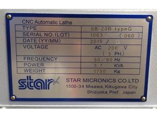 Lathe machine Star SB 20 R type G-6