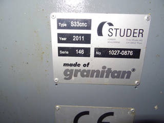 Grinding machine Studer S 33 universal + B axis + C axis-6