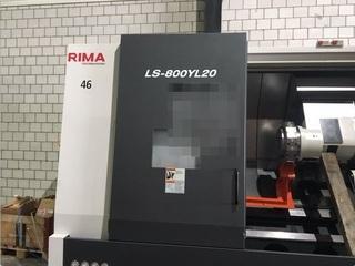 Lathe machine Takisawa LS 800 YL 20-1
