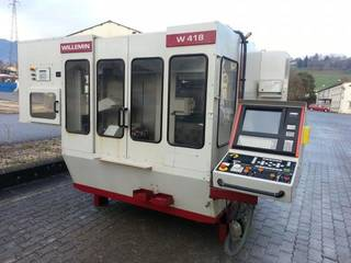 Milling machine Willemin Macodel W 418  B2-0