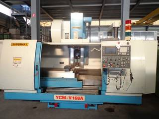 Milling machine YCM Supermax V 168 A, Y.  1998-3