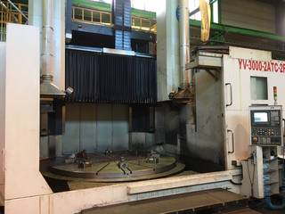 Lathe machine YOU JI VTL 3000 - 2 ATC - 2 R-1