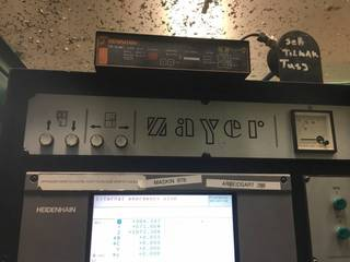 Zayer 30 KCU 7000 AR Bed milling machine-6