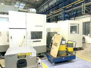 Milling machine DMG 80 H linear 5 apc-9