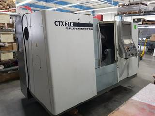 Lathe machine DMG CTX 310 V3-0