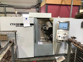 Lathe machine DMG CTX 410 V6-1